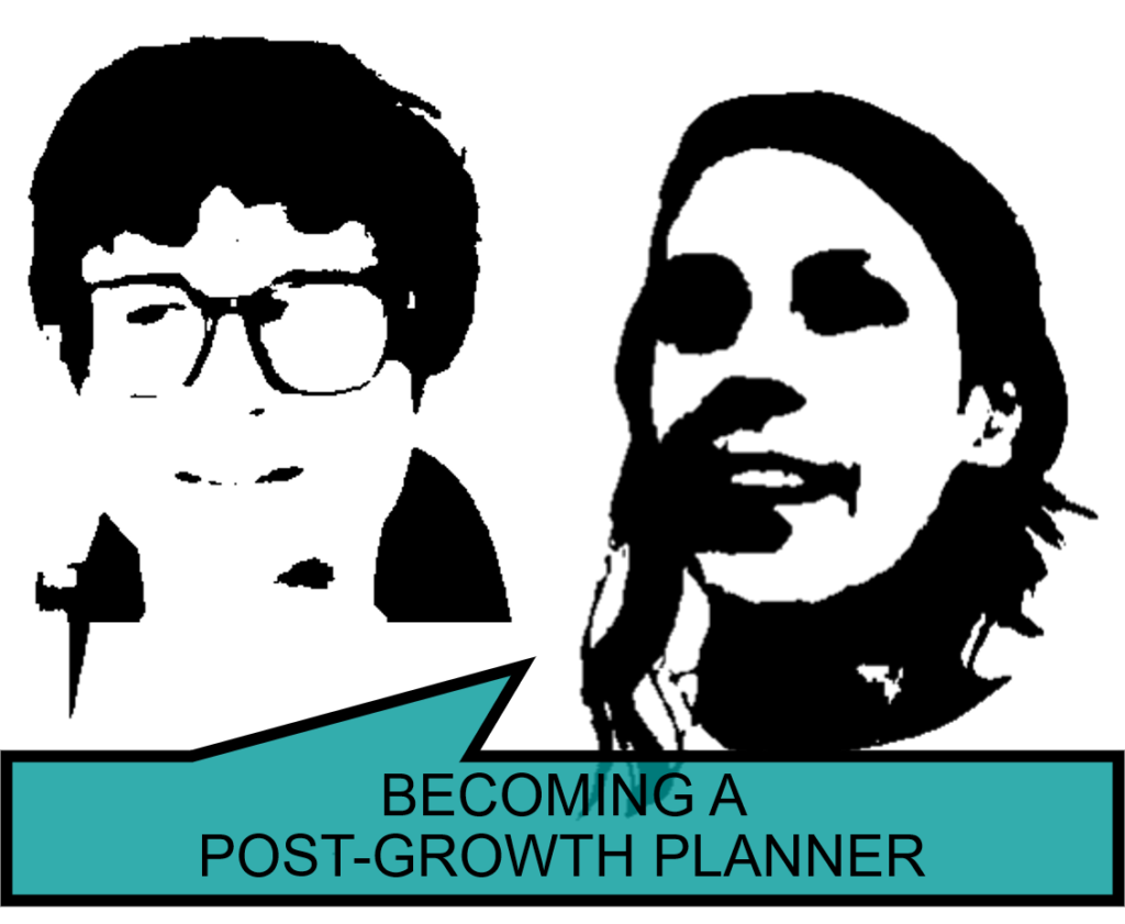 Becoming a Post-Growth Planner: obstacles and challenges to changing roles and practices