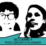 Being a post-growth planner