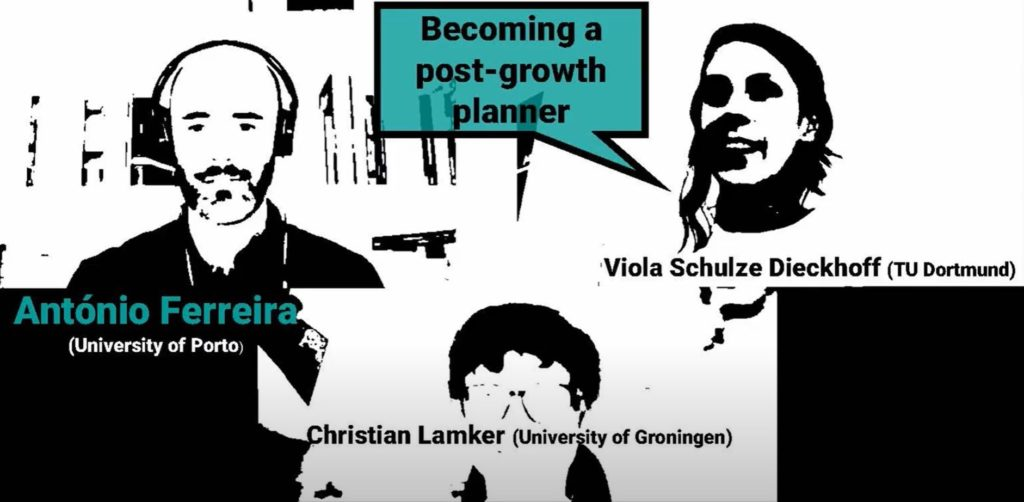 Becoming a post-growth planner #3: António Ferreira
